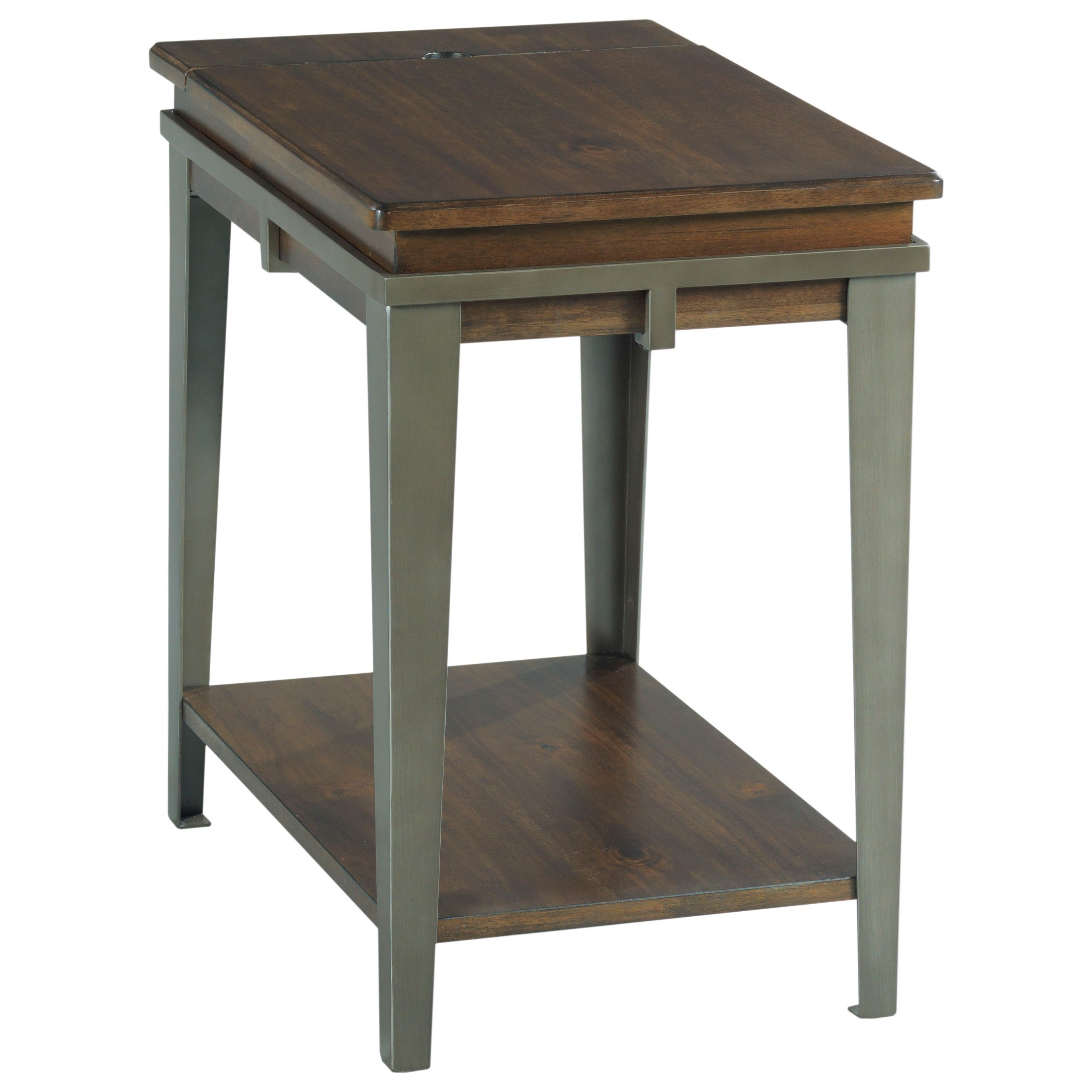 Composite Chairside Table by Hammary at Suburban Furniture