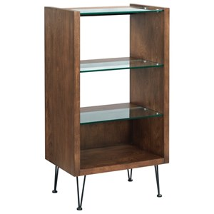 Contemporary Bookcase with 4 Shelves