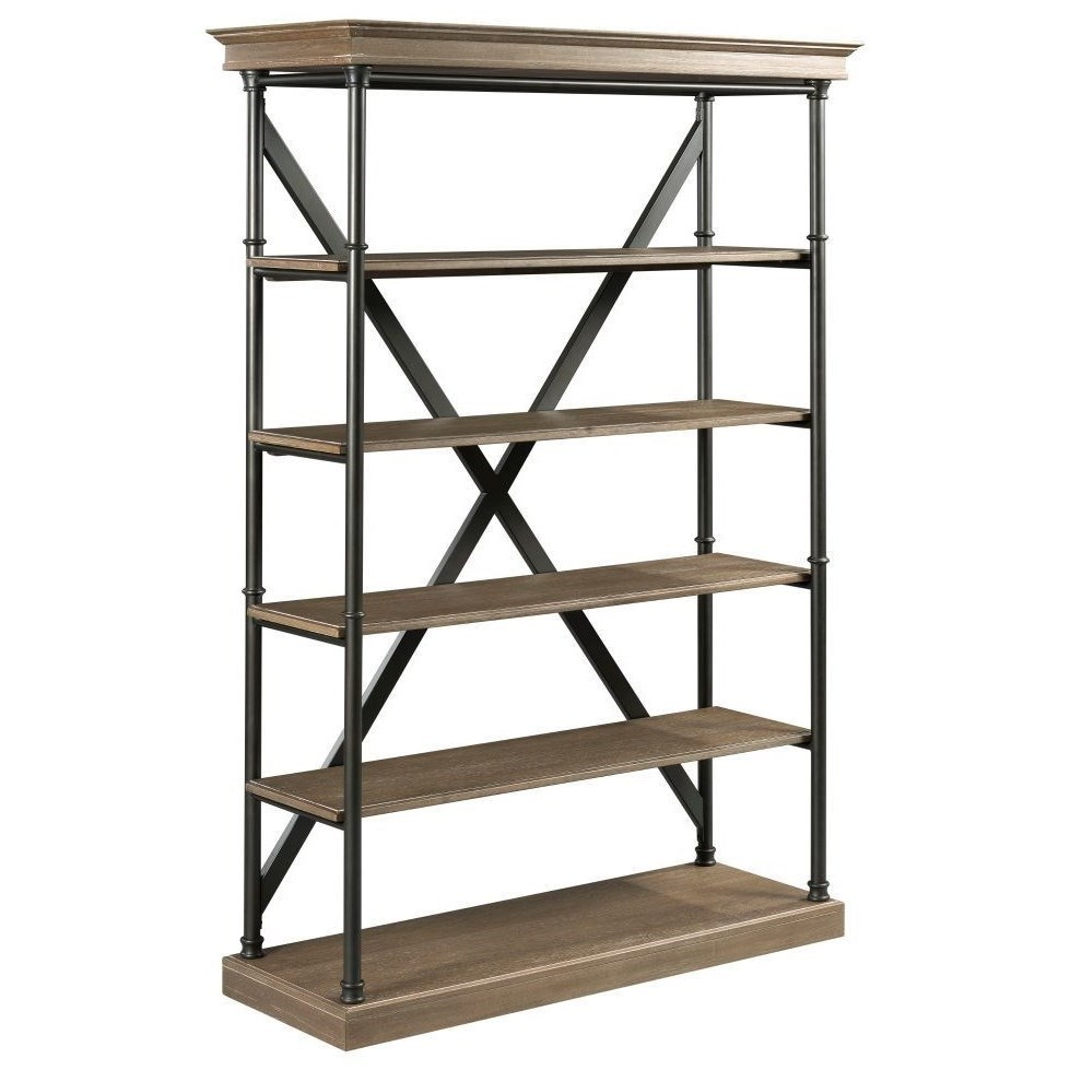 Darrington Bookcase by Hammary at Alison Craig Home Furnishings