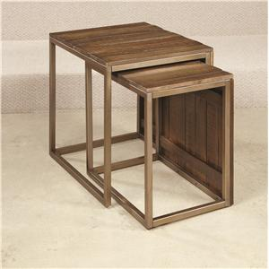 Hammary Flashback Nesting End Table