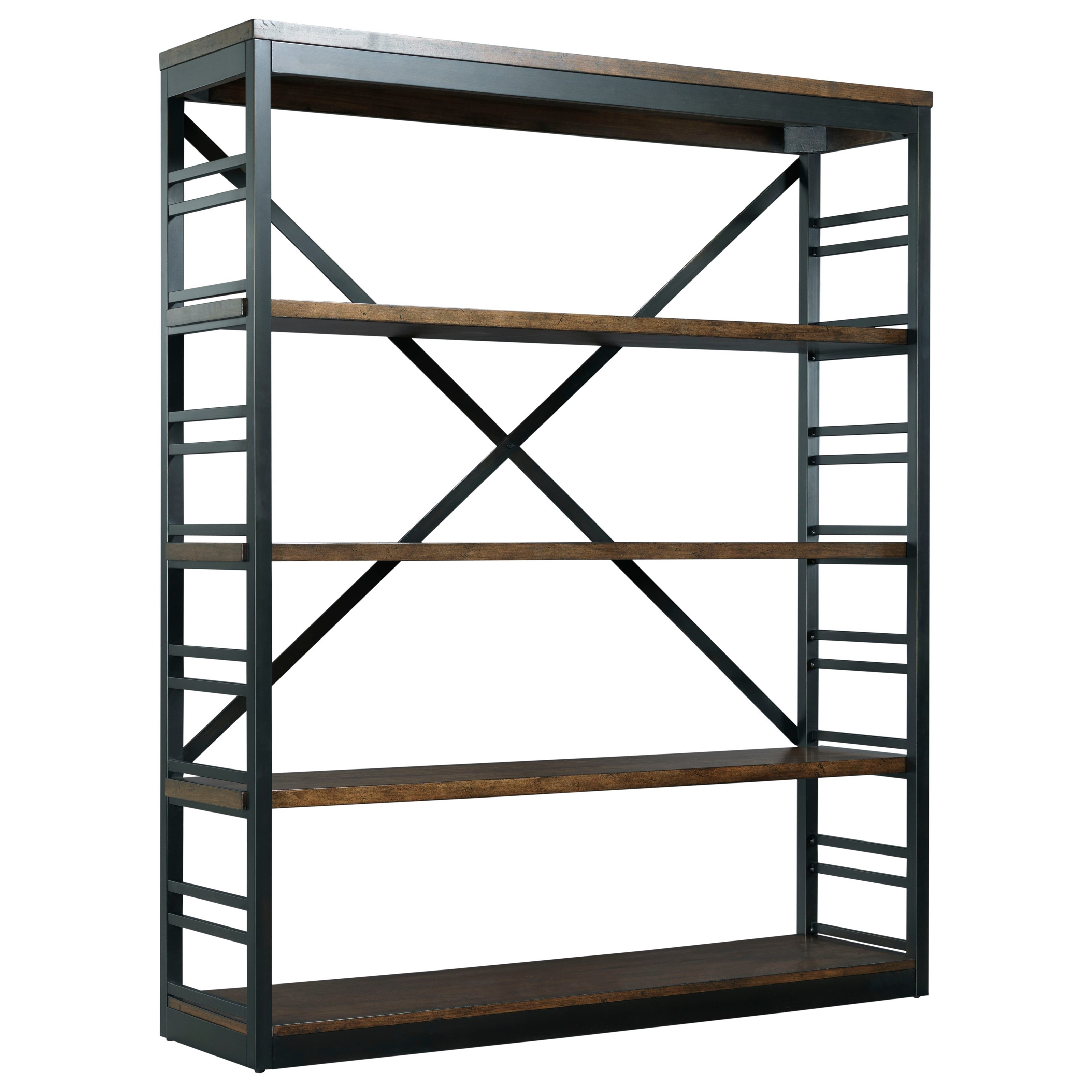 Franklin Stacking Bookcase by Hammary at Jordan's Home Furnishings