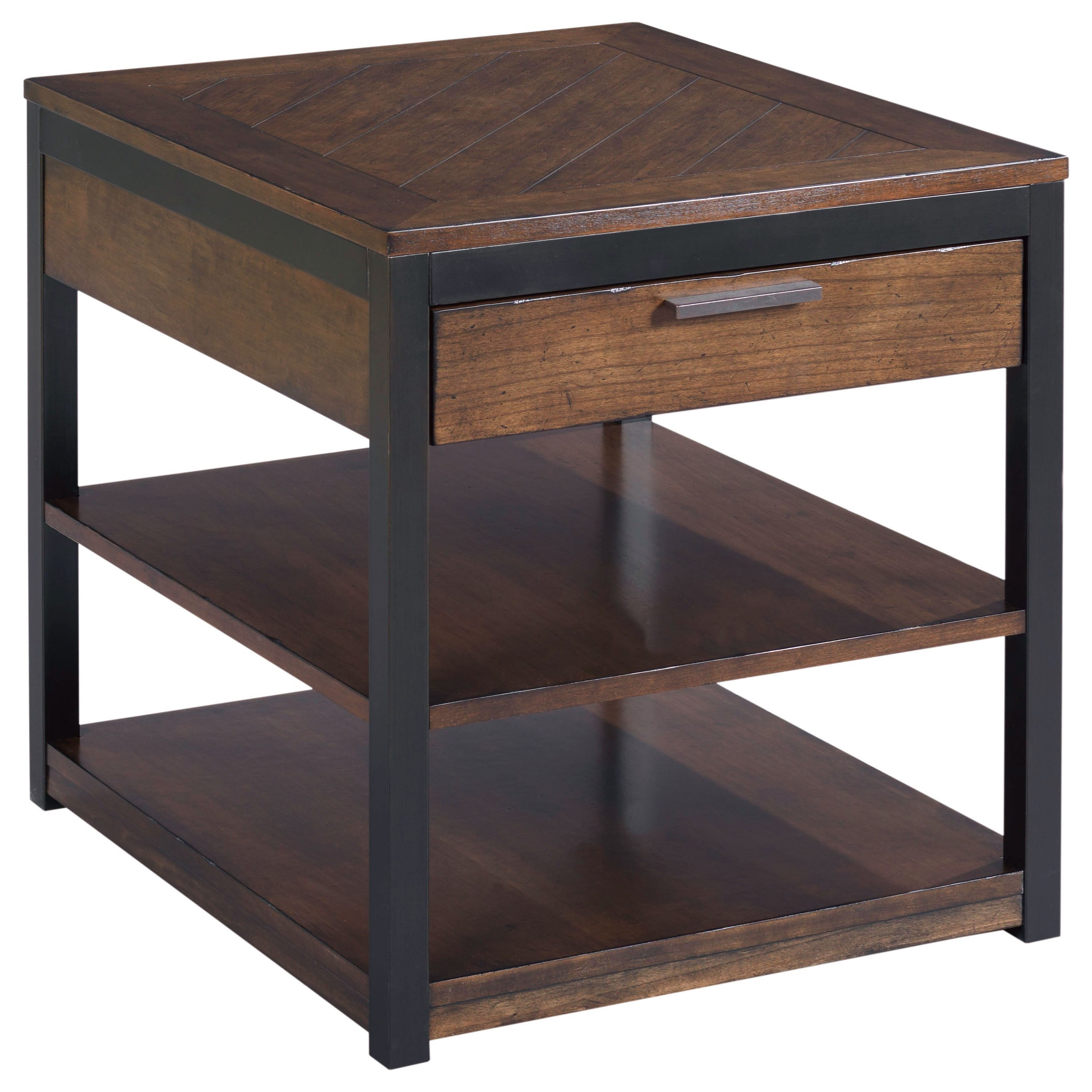 Franklin Rectangular Drawer End Table by Hammary at Alison Craig Home Furnishings
