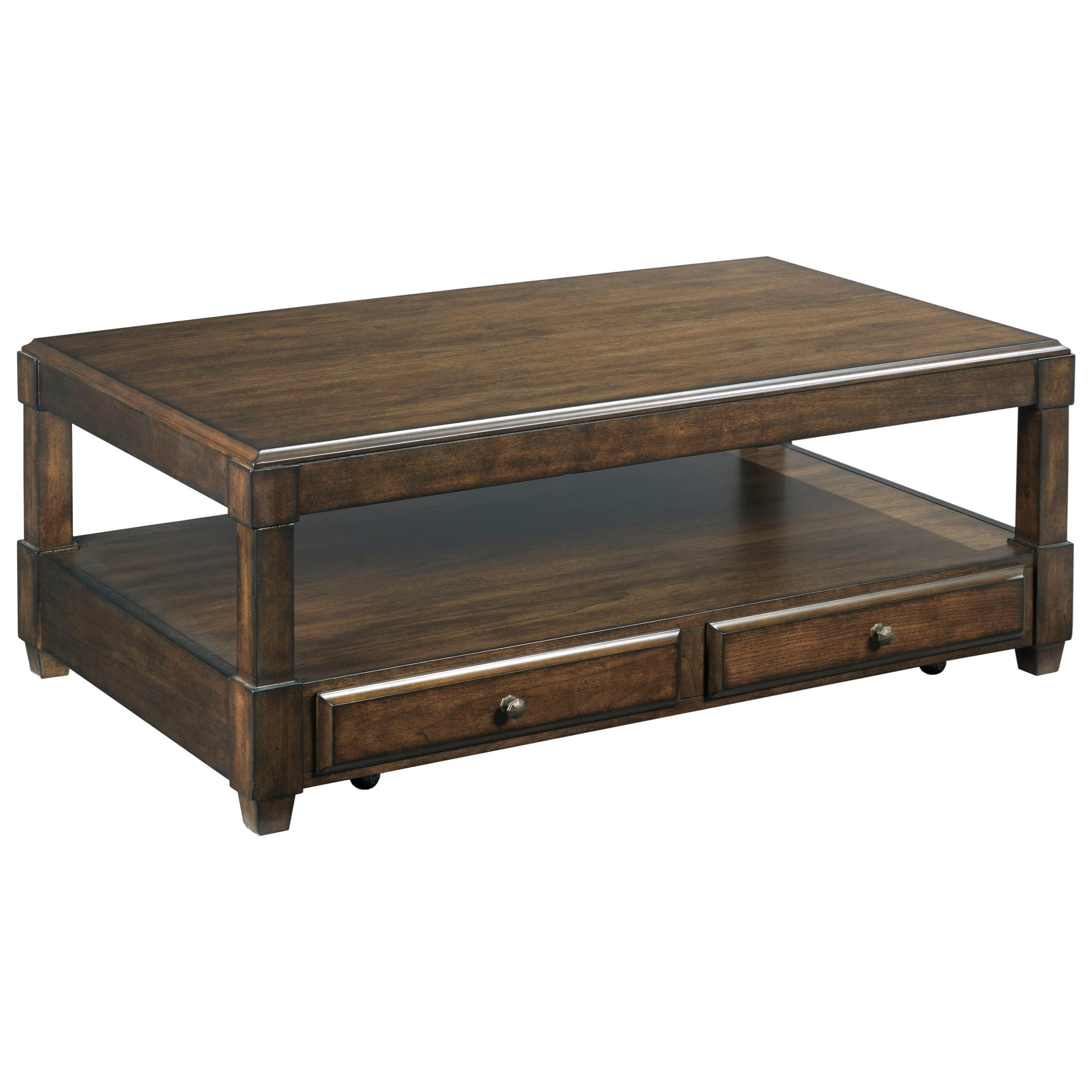 Halsey Rectangular Lift-Top Cocktail Table by Hammary at Johnny Janosik