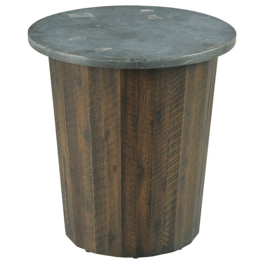 Hidden Treasures Round Spot Table by Hammary at Stoney Creek Furniture