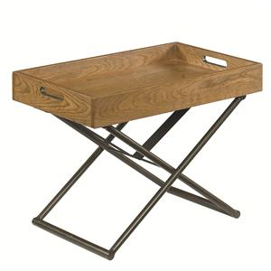 Hammary Hidden Treasures Adjustable Tray Table