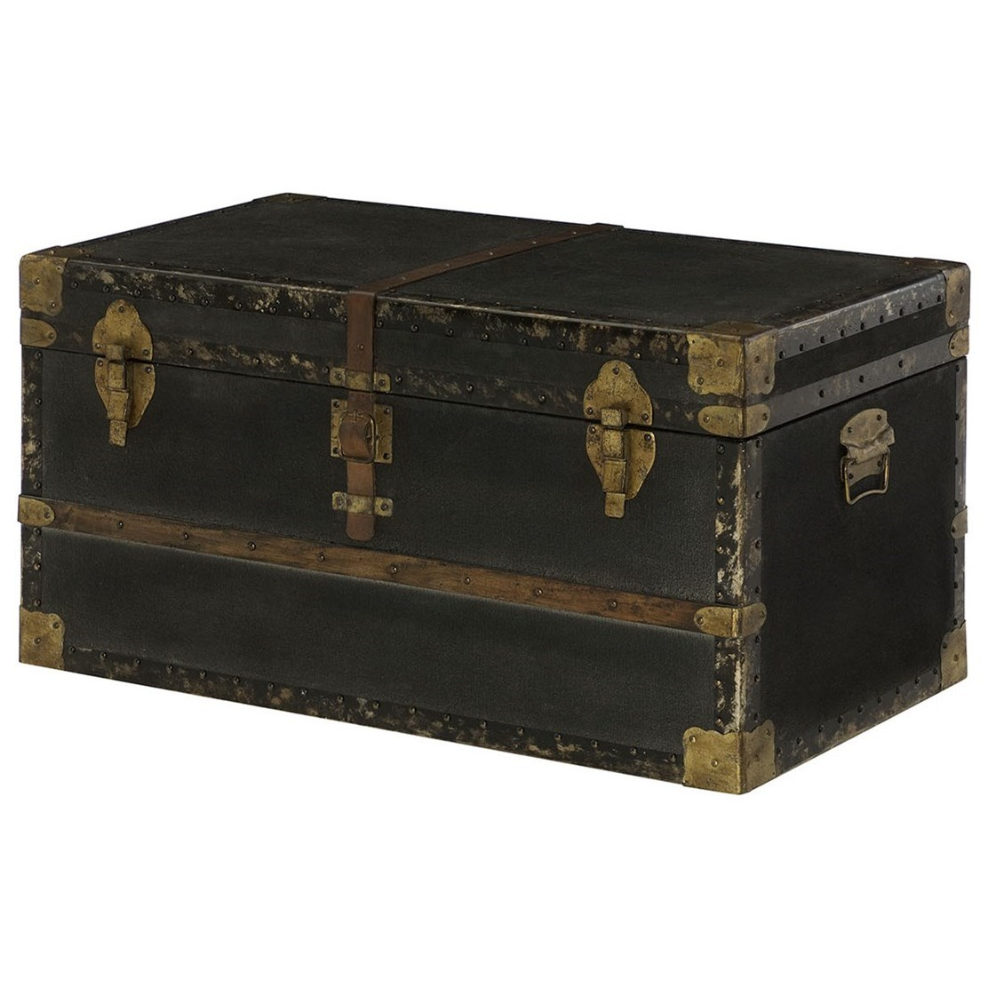 Hidden Treasures Trunk Cocktail Table by Hammary at Stoney Creek Furniture