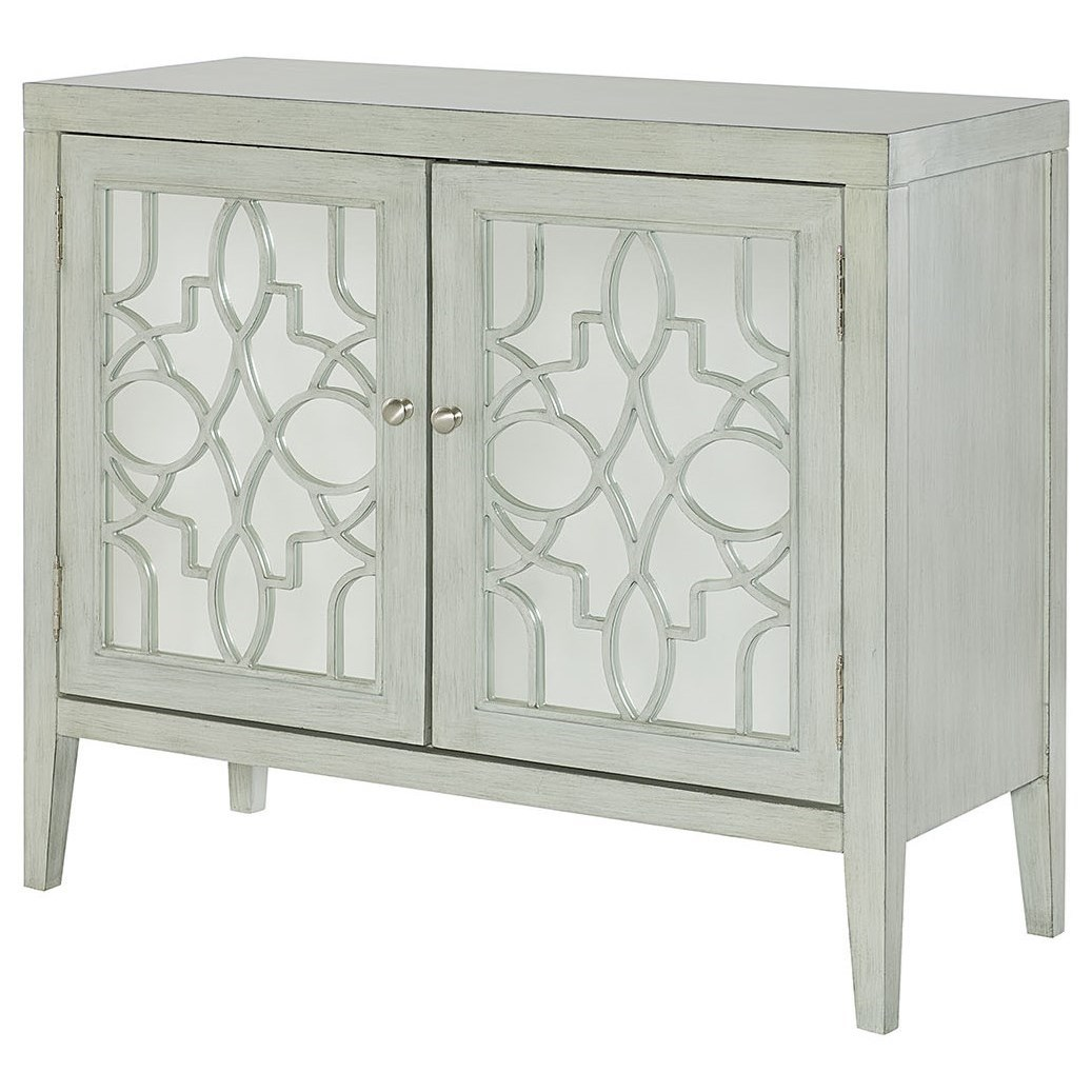 Hidden Treasures Mirrored Door Cabinet by Hammary at Alison Craig Home Furnishings