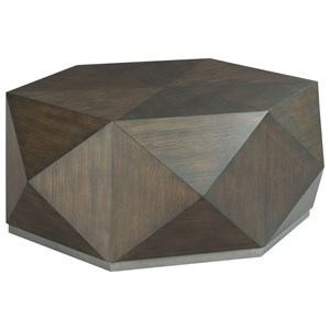 Contemporary Hex Cocktail Table