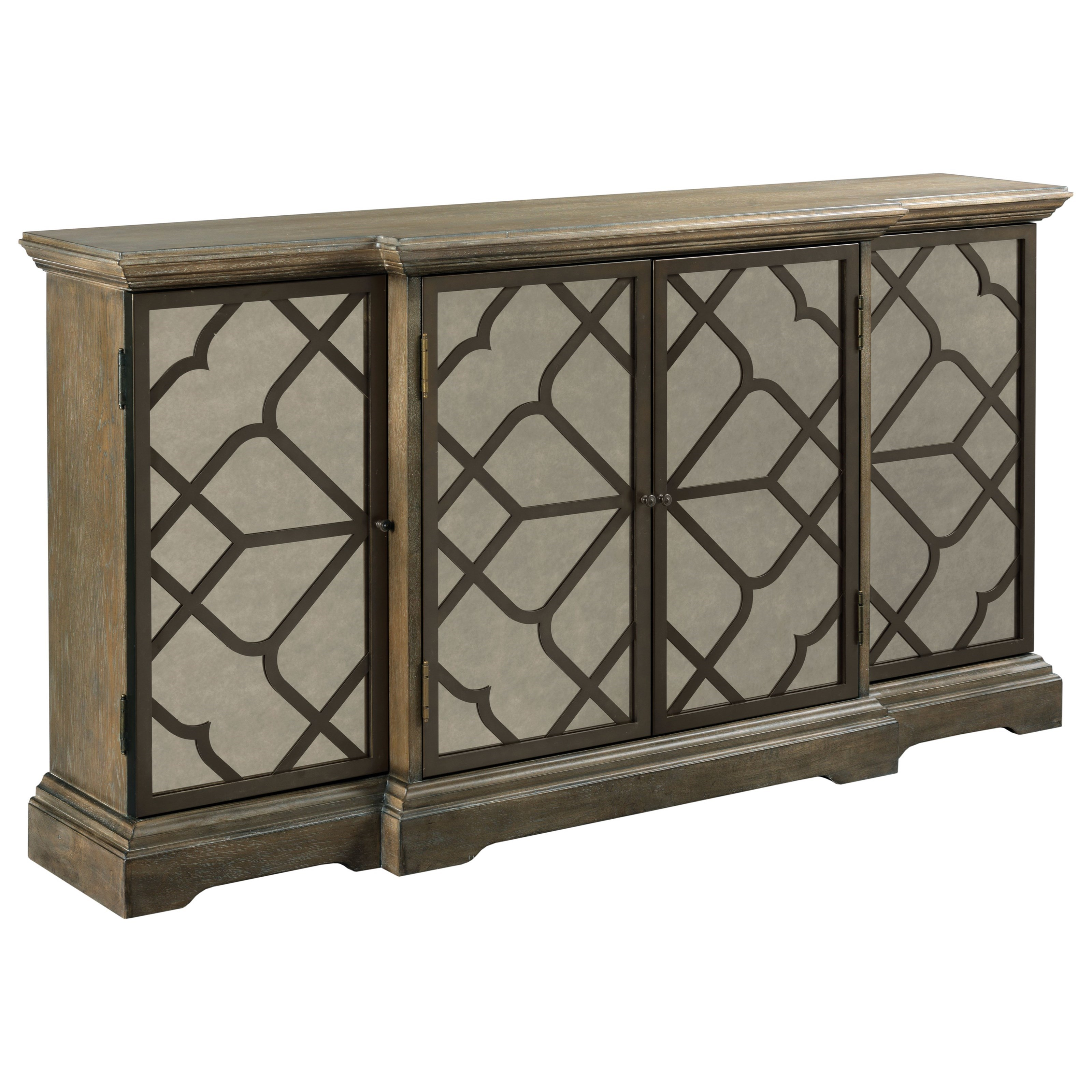 Hidden Treasures Fret Cabinet by Hammary at Stoney Creek Furniture