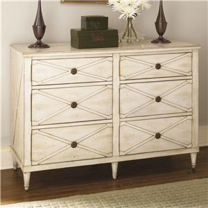 Hammary Hidden Treasures White Drawer Chest
