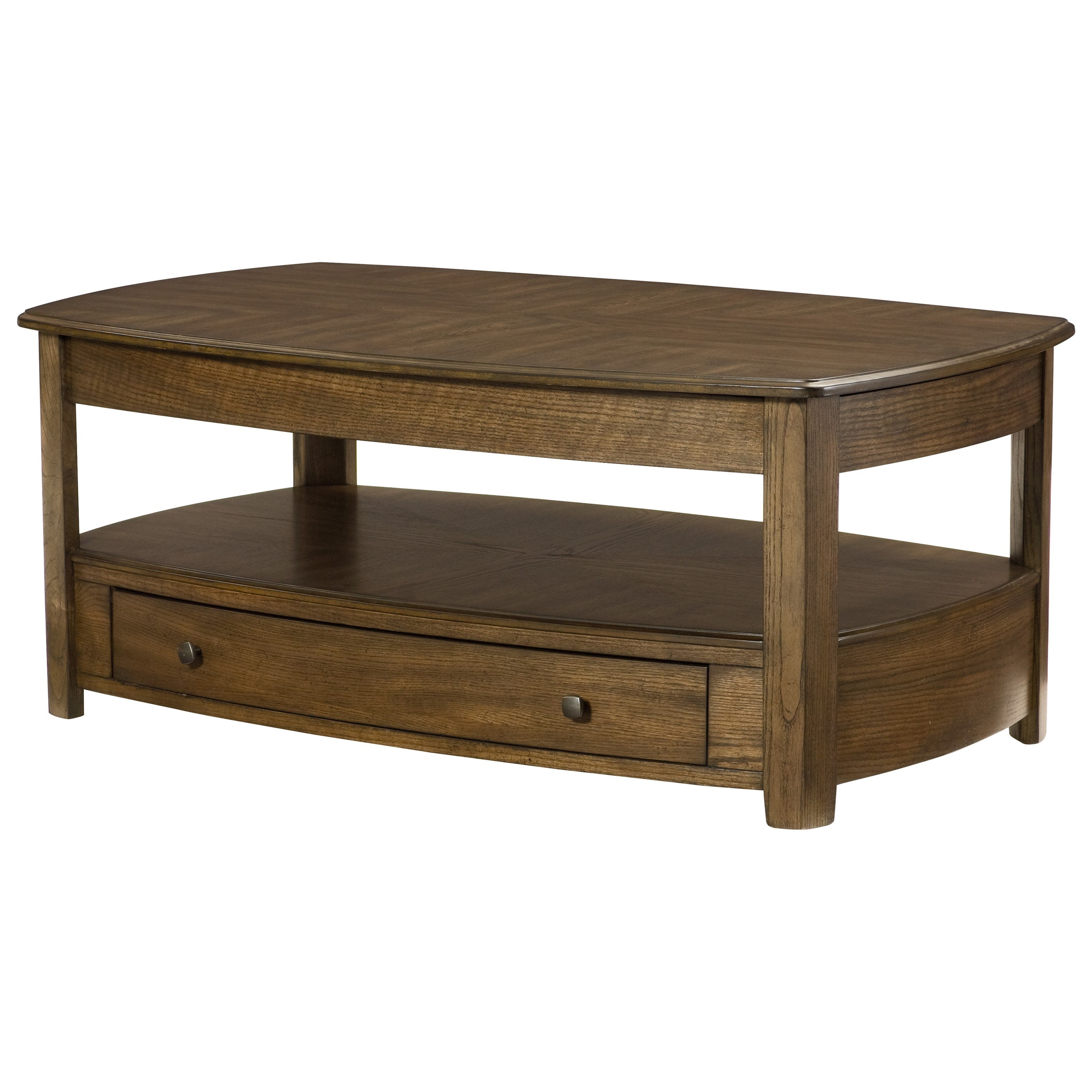 Primo Rectangular Lift-Top Cocktail Table by Hammary at Alison Craig Home Furnishings