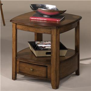 Hammary Primo Rectangular Drawer End Table