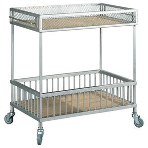 Serving Trolley with Casters