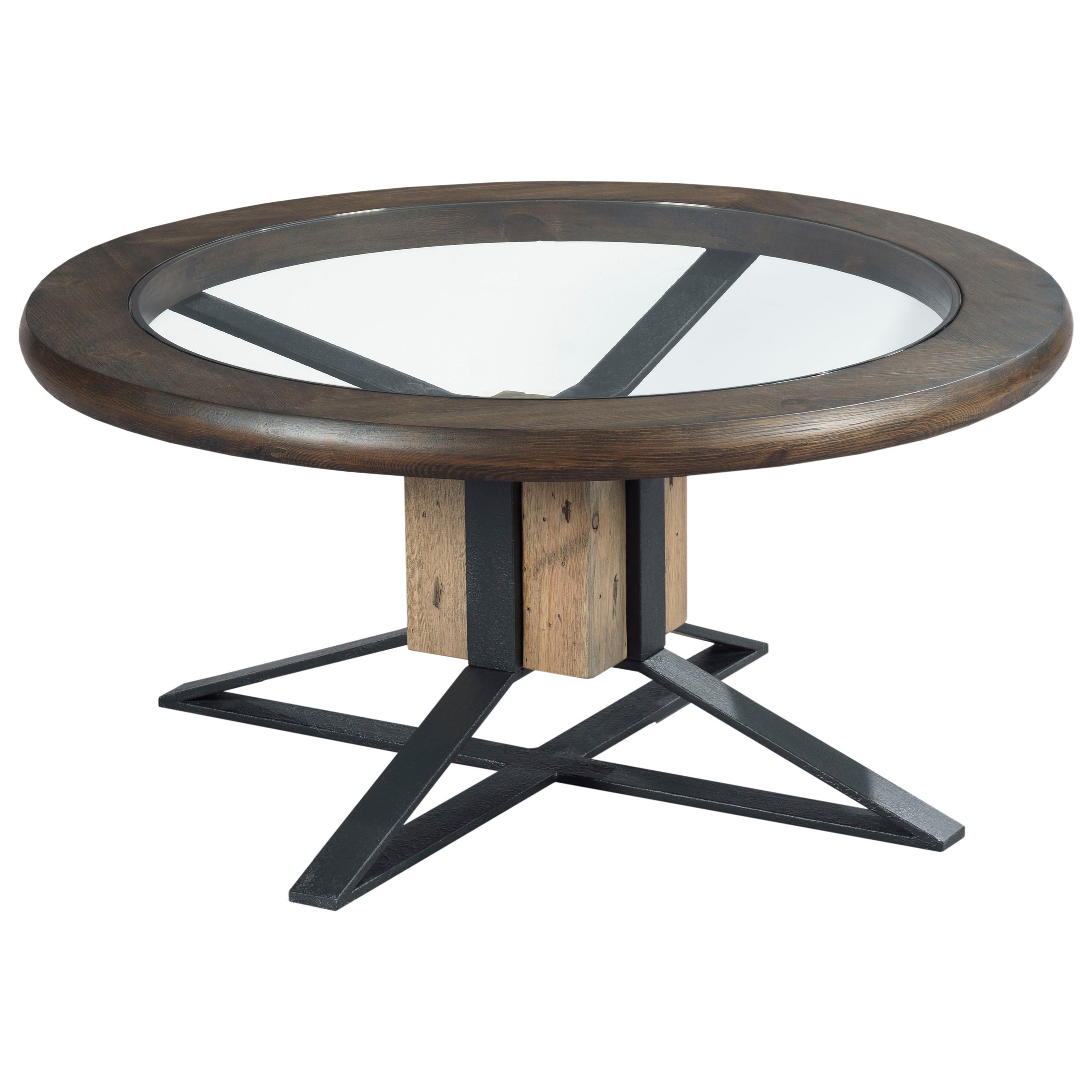 Junction Compass Cocktail Table by Hammary at Alison Craig Home Furnishings