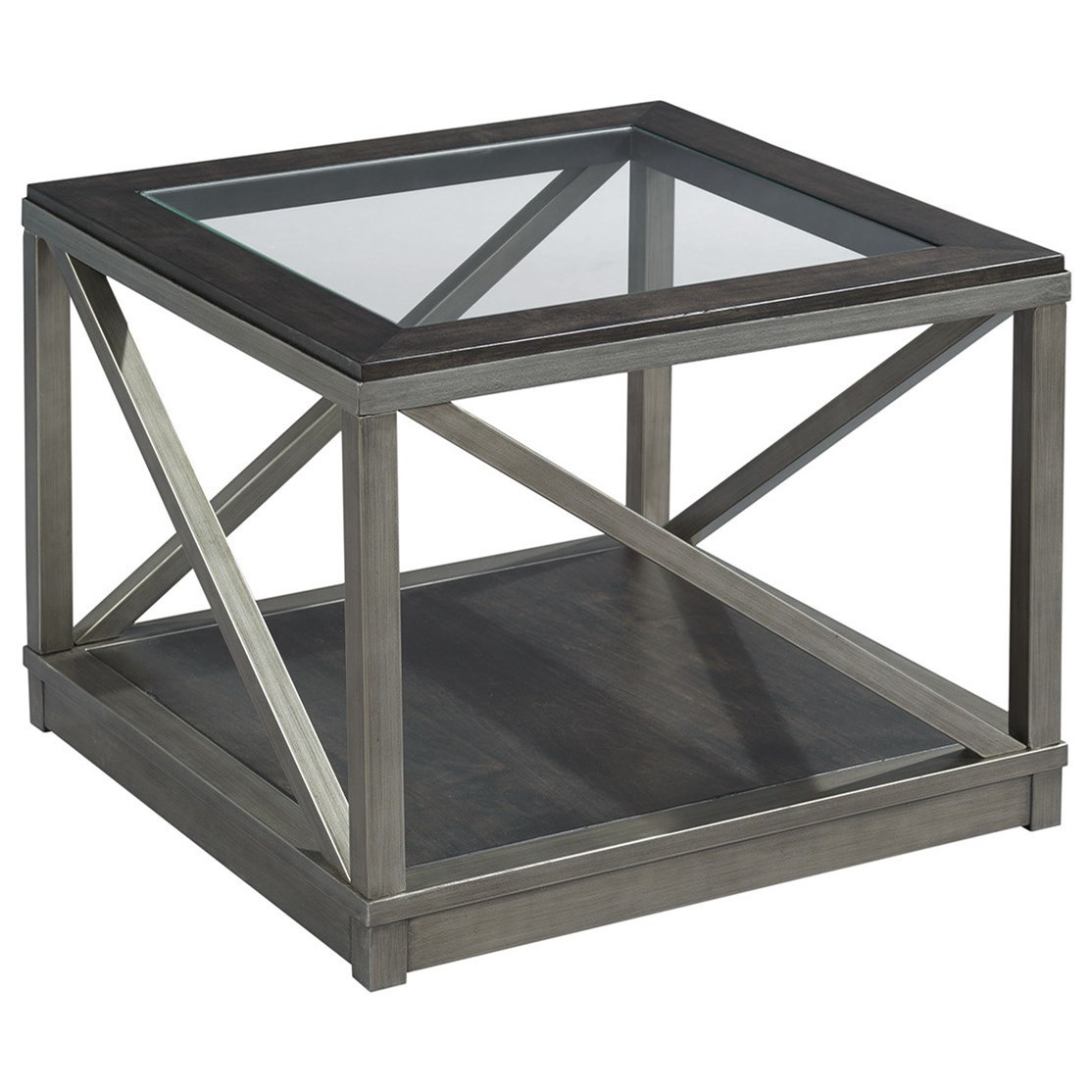 Jupiter Cube Cocktail Table by Hammary at Darvin Furniture