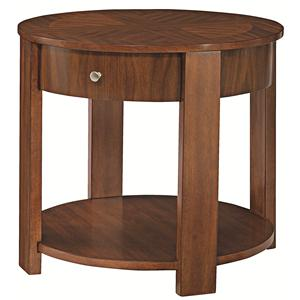 Hammary Maxim Round End Table