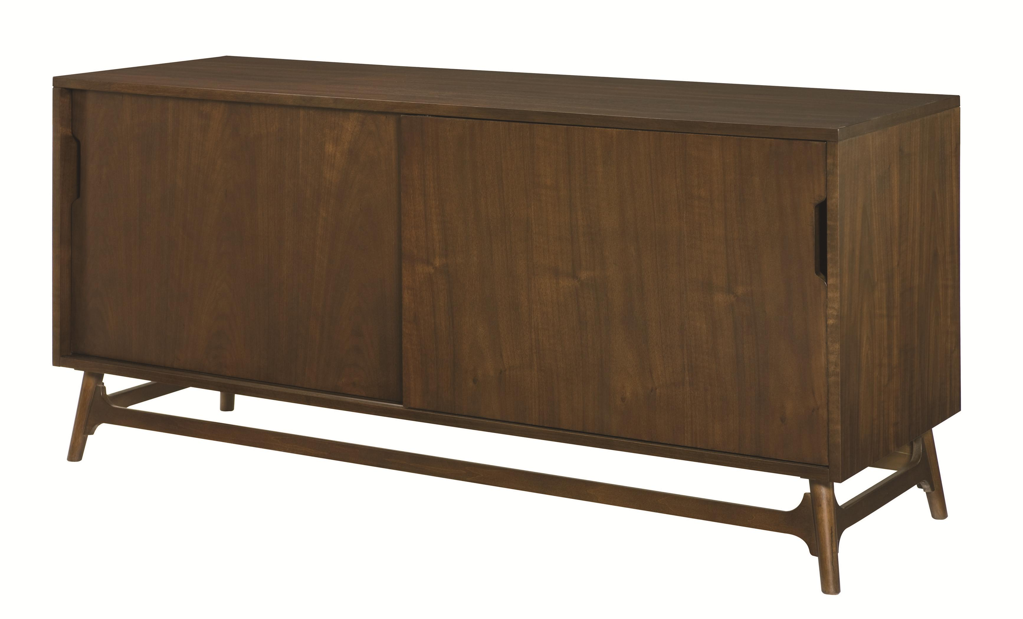 Mila Entertainment Console by Hammary at HomeWorld Furniture