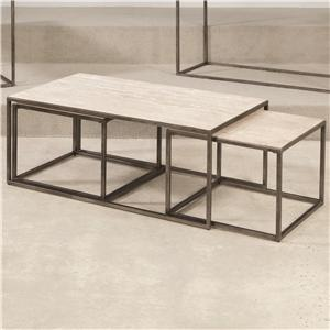 Hammary Modern Basics Rectangular Cocktail Table