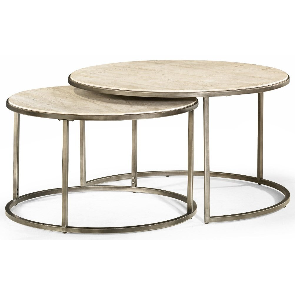 Modern Basics Round Cocktail Table by Hammary at Darvin Furniture