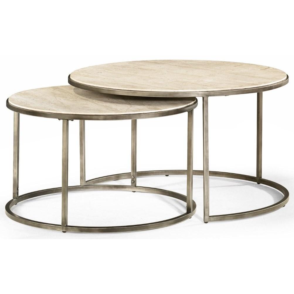 Modern Basics Nesting Cocktail Tables by Hammary at HomeWorld Furniture