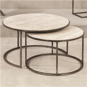 Hammary Modern Basics Round Cocktail Table