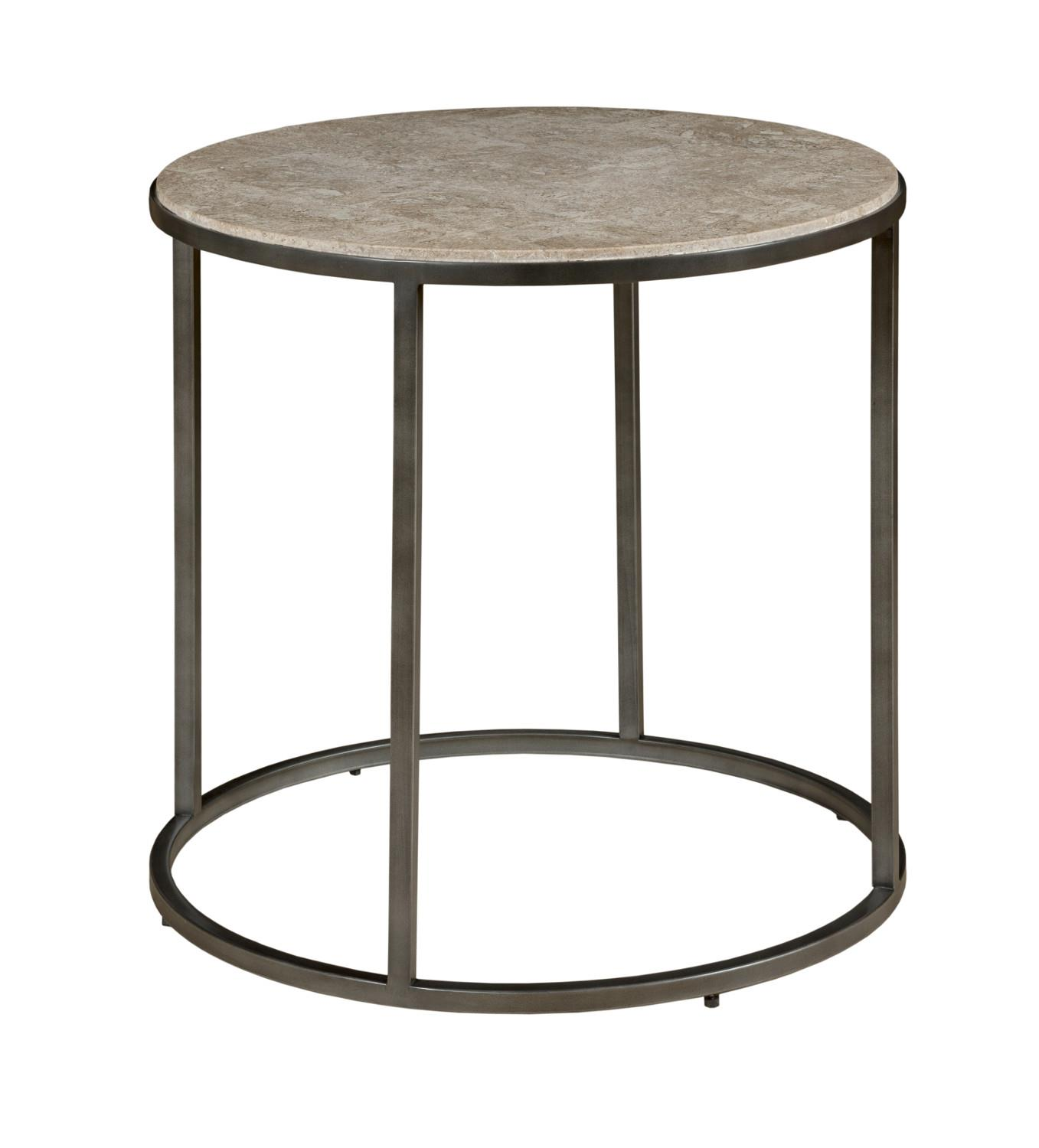 Loretto Loretto Round End Table by Hammary at Morris Home