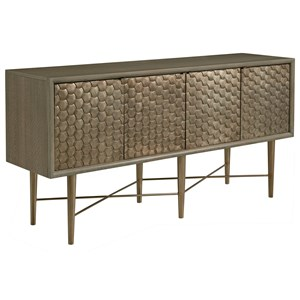 Soho Credenza Console Table with Wire Management