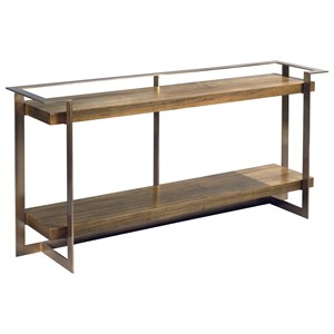 Timothy Console Table with Lower Shelf