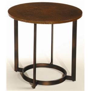 Hammary Nueva Round End Table