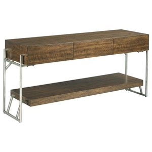 Industrial Entertainment Console with Storage