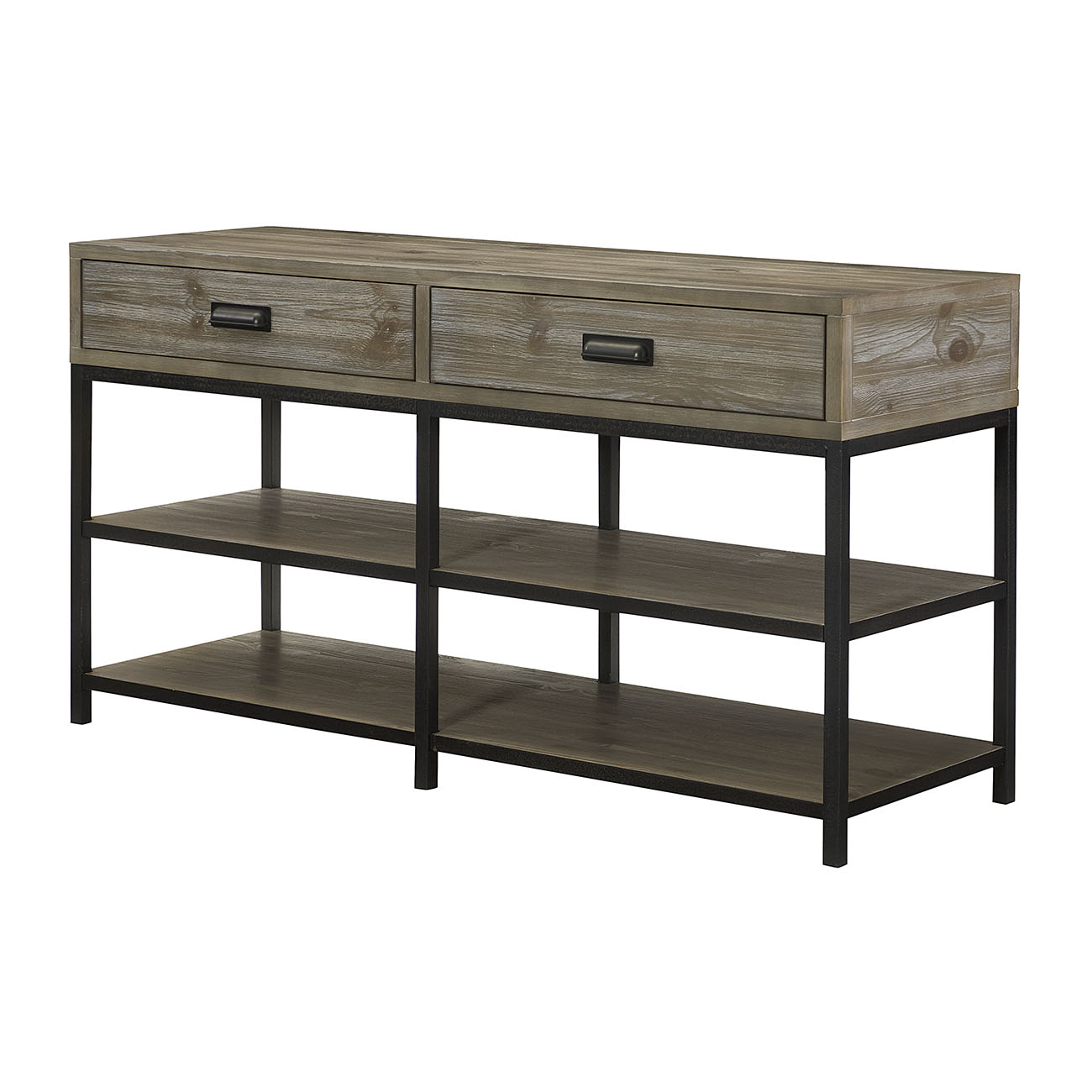 Parsons Entertainment Console by Hammary at Jordan's Home Furnishings