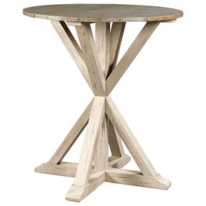 Farmhouse Round Bar Table