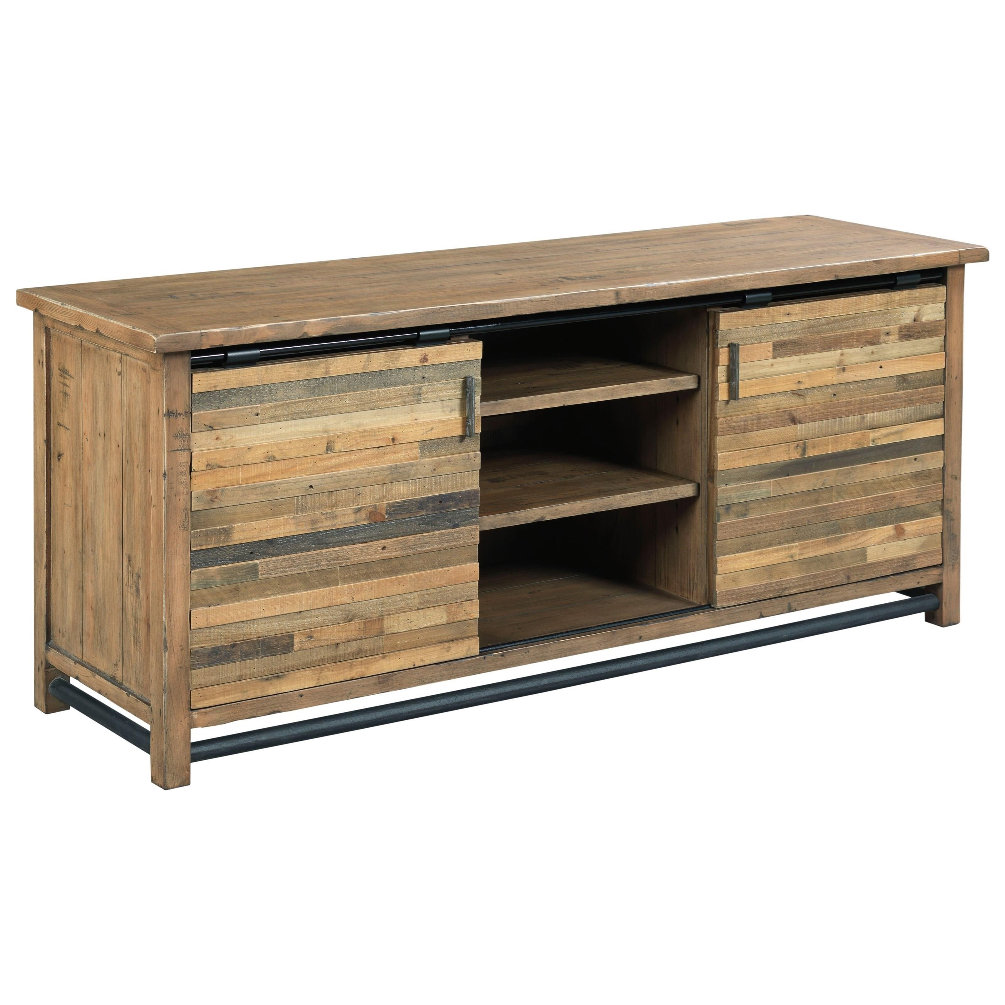 Reclamation Place Entertainment Console by Hammary at Alison Craig Home Furnishings