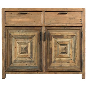 Reclaimed Wood Accent Cabinet