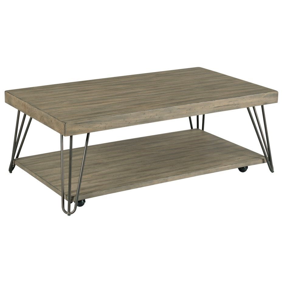 Sanbern Rectangular Coffee Table by Hammary at Pedigo Furniture