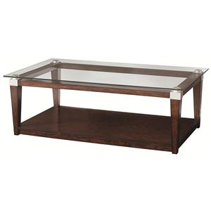 Hammary Solitaire Rectangular Coffee Table