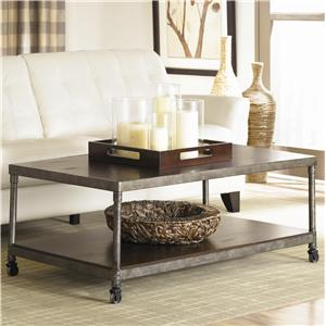 Hammary Structure Rectangular Cocktail Table