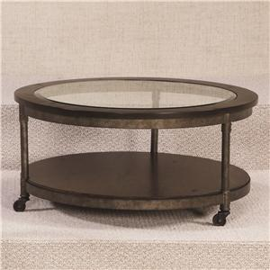Hammary Structure Round Cocktail Table