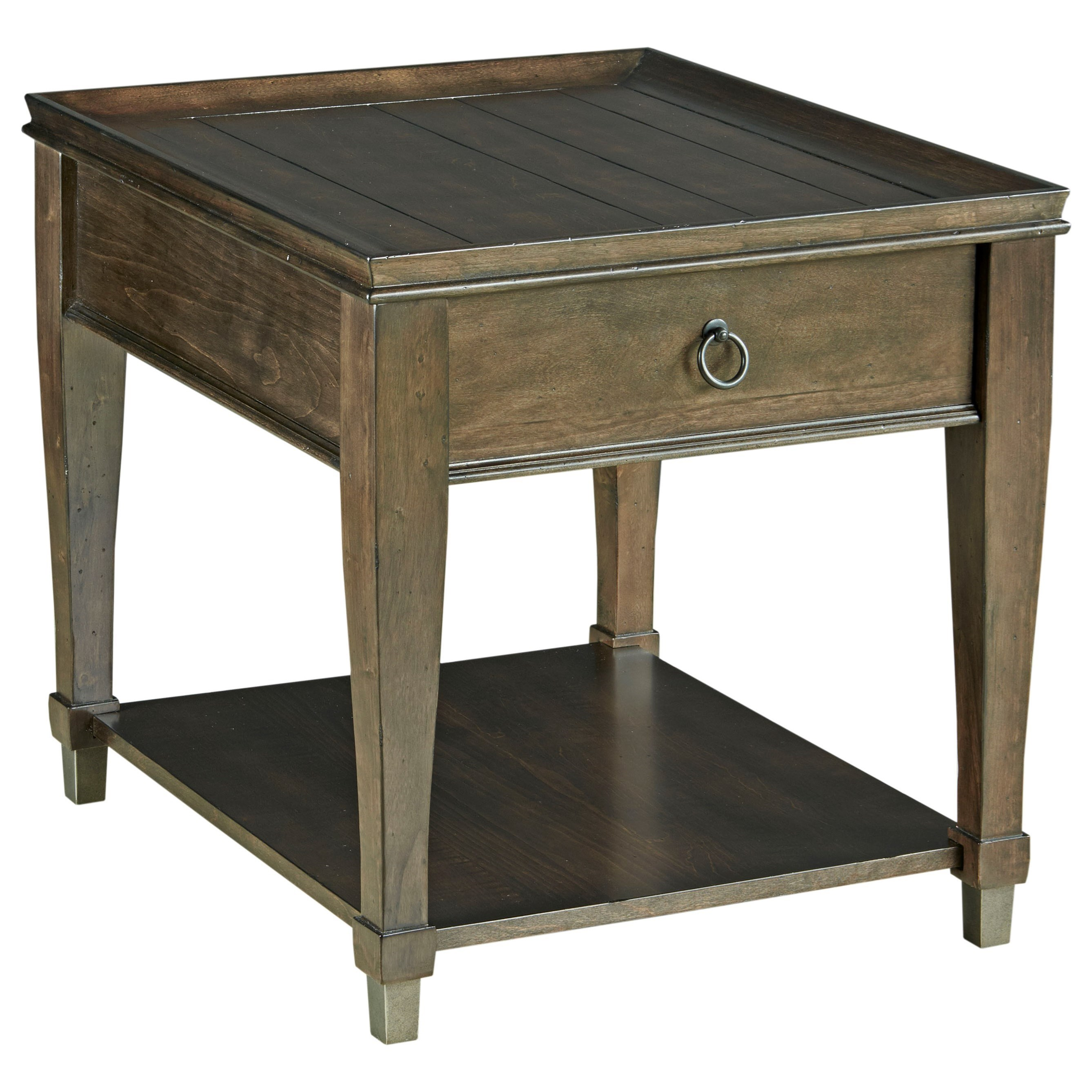 Sunset Valley Rectangular End Table by Hammary at Johnny Janosik