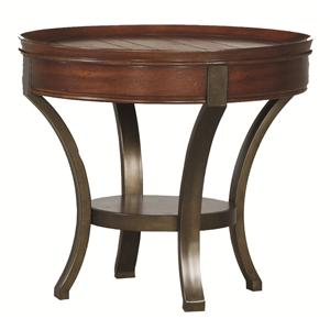 Hammary Sunset Valley Round End Table