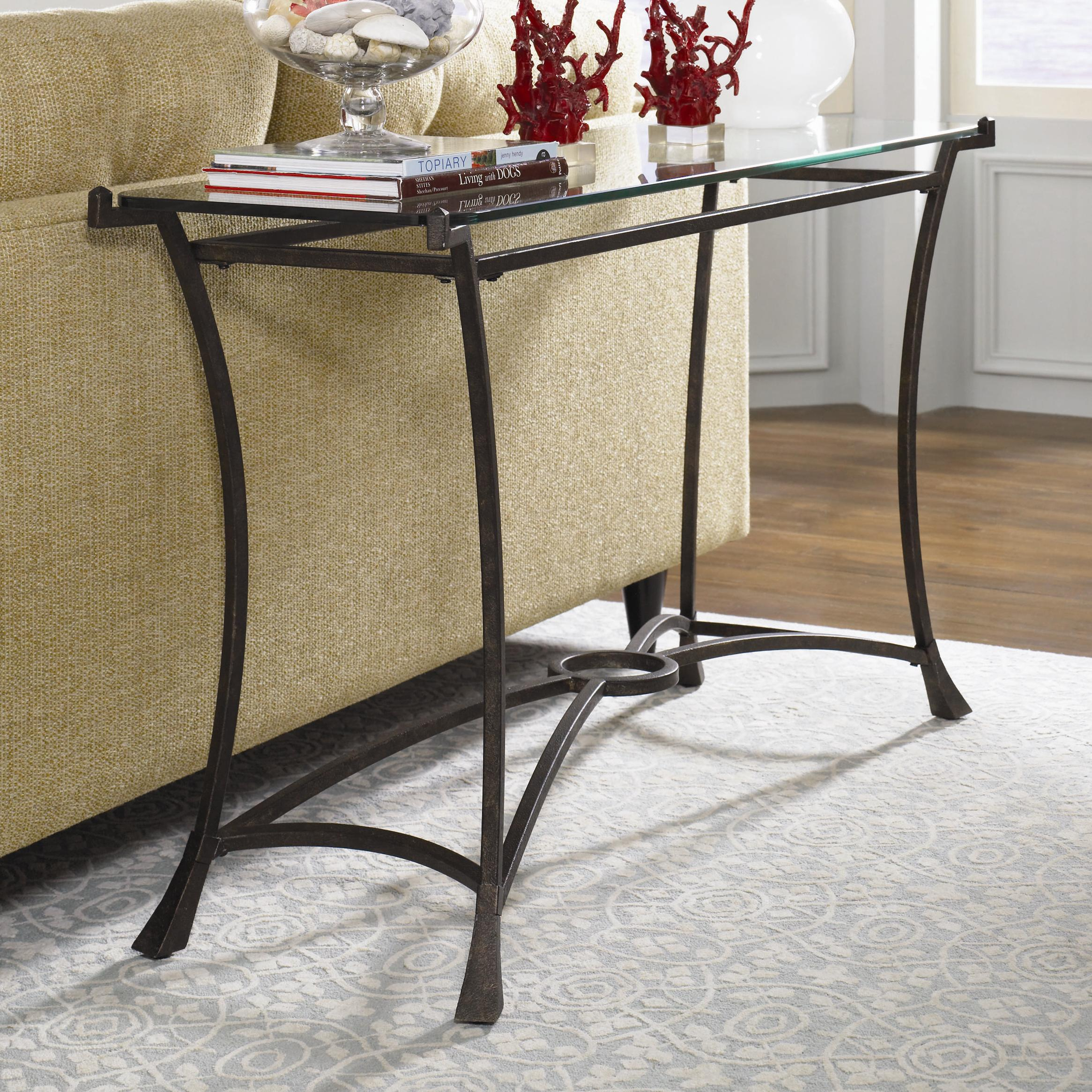 Sutton Sofa Table by Hammary at Darvin Furniture