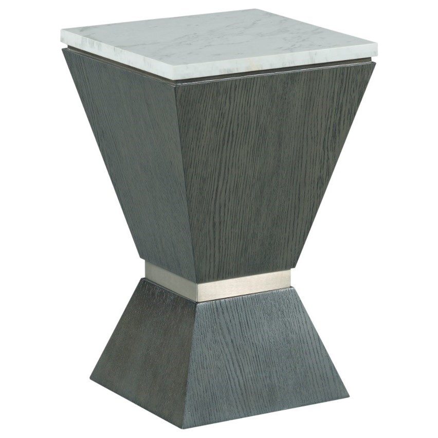 Synchronicity Chairside Table by Hammary at Jordan's Home Furnishings