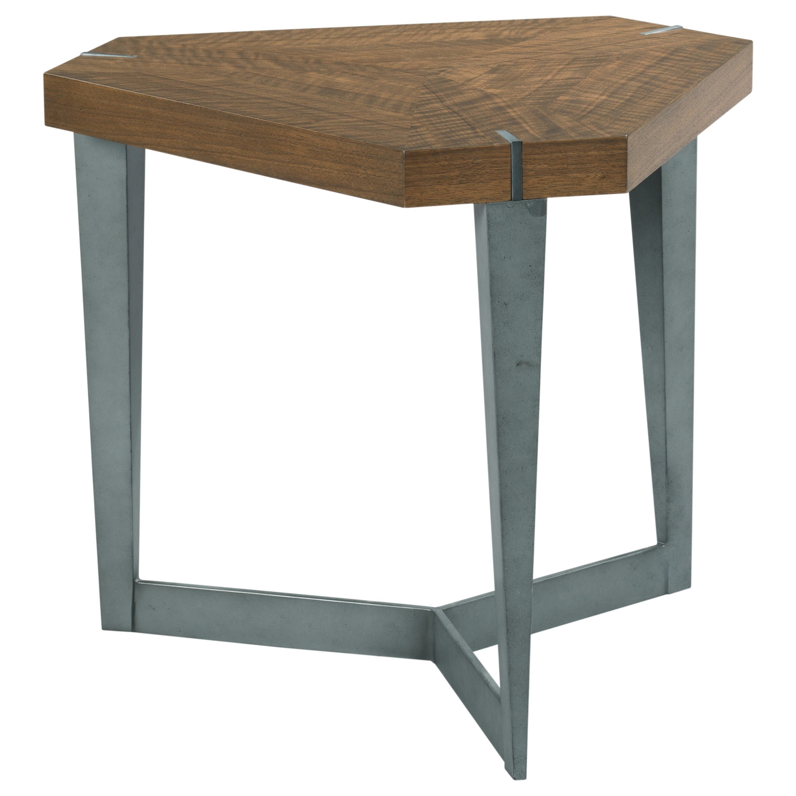 Synergy Triangulate Lamp Table by Hammary at Darvin Furniture