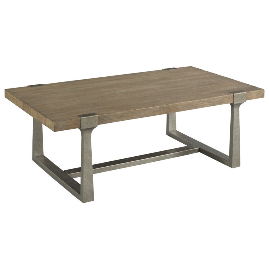Timber Forge Rectangular Coffee Table by Hammary at Darvin Furniture