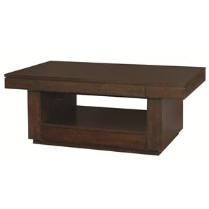 Hammary Uptown Rectangular Lift-Top Cocktail Table