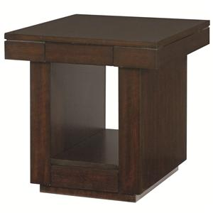 Hammary Uptown Two Drawer End Table