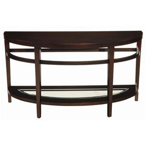 Hammary Urbana Demilune Sofa Table