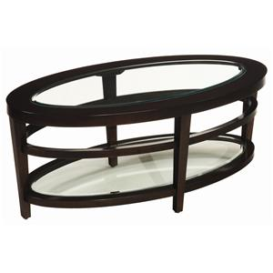 Hammary Urbana Oval Cocktail Table