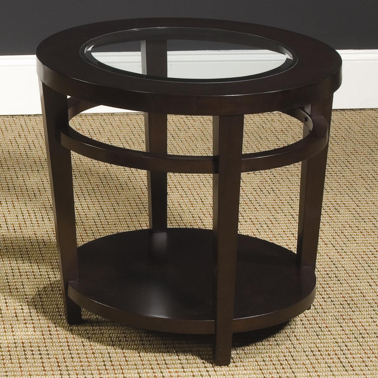 Urbana Round End Table by Hammary at Darvin Furniture