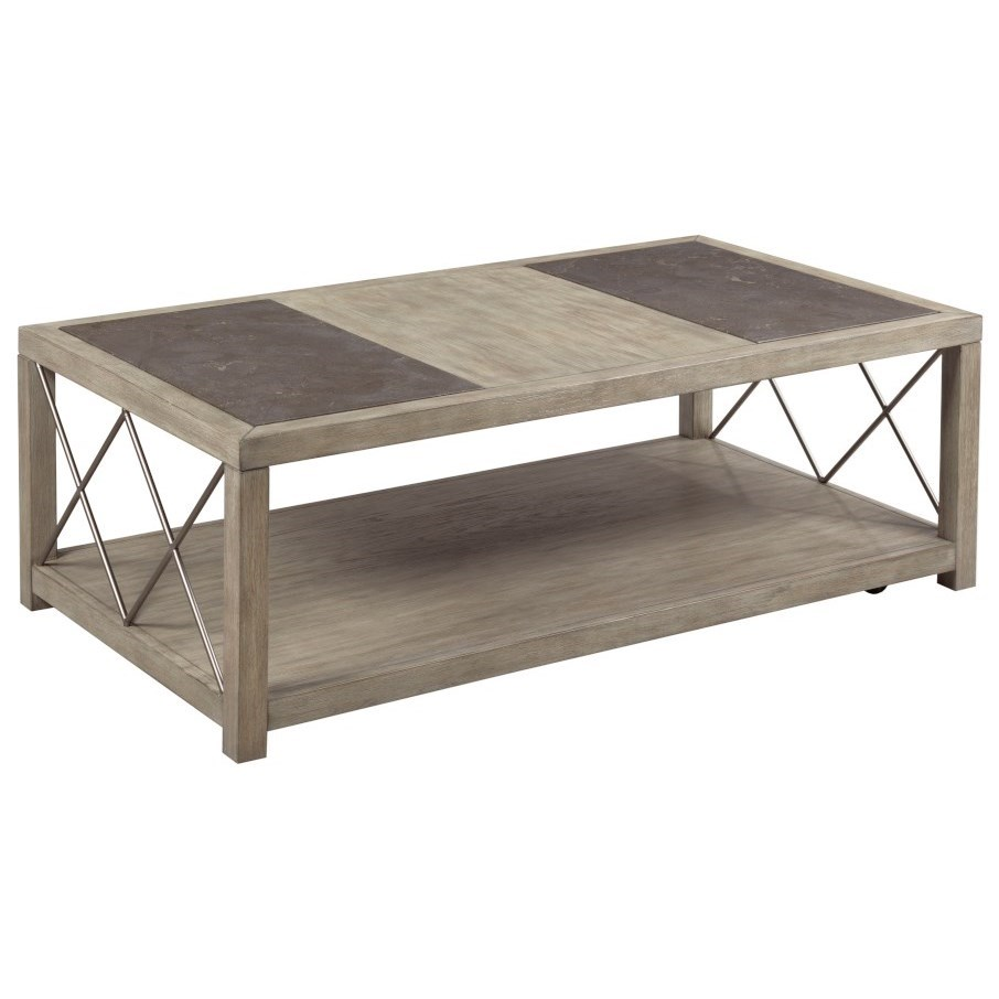 West End Rectangular Coffee Table by Hammary at Suburban Furniture